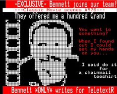 TeletextR: Commando's Wes Bennet in Profile by Carlos
