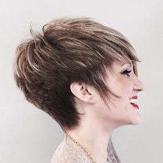 #pixie #shorthair #balayage #highlights #haircolor #wispy #color by @kathcoccolecolorist #beautiful @ambergstylist @saloncoccole