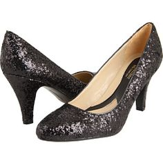 glittery and a not-too-high-heel. Could I actually wear them all night without hobbling home?