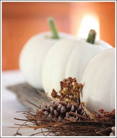Thanksgiving Table Decorations - Easy, Cheap, and Beautiful!