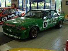 The AWESOME Greens Tuf XE Falcon of Dick Johnson, last of the big bangers.