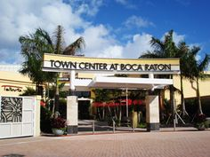 Love to shop? Ohhh boy are you in the right place. The Town Center Mall at Boca Raton is South Florida's ultimate luxury shopping destination. Town Center Mall features upscale shopping at the likes of Bloomingdales, Nordstrom & Neiman Marcus and fine dining hotspots like The Capital Grille, Mariposa and the Blue Martini. You can't beat shopping, sunshine, food and fun all in one place.