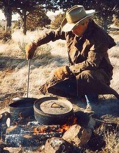 Campfire cookin' and an outdoor fun life.