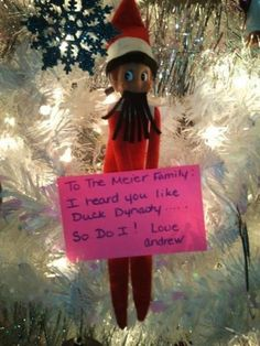 Funny Elf on the Shelf Ideas!