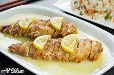 Recette de poulet au citron chinois