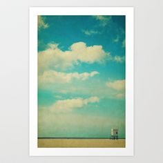 Into the sky Art Print Promoters - $15.60, Angela Dolling