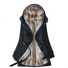 Finally! I found the Detachable Plush Liner Thick Cotton Windbreaker Jacket Coat from ByGoods.com. I like it so so much!