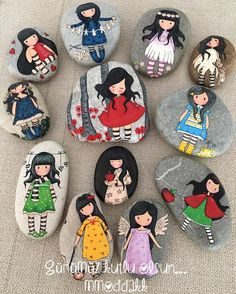 "Gefällt 612 Mal, 47 Kommentare - @mmoddakk auf Instagram: ""happy women's day ♥️ #mmoddakk #taşboyama#stonepainting #tasboyama#paintedstone#rockpainting…"""
