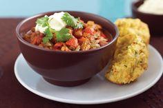 Chilli corn bread is surprisingly easy to make and a delicious alternative to tortillas.