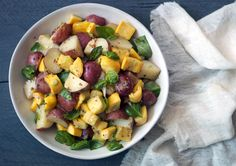 Potato and Zucchini Salad - Bon Appétit