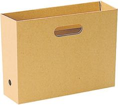 MUJI Kraft Paper File Box