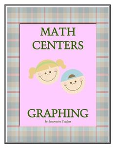 Math Centers Graphing - Math CCSS