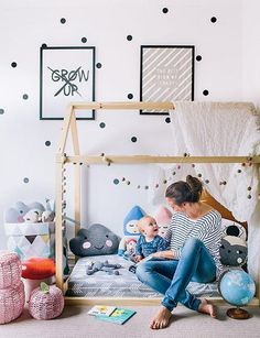 Shop our Montessori style floor bed frames with an adorable house design and save. Free shipping sale now!