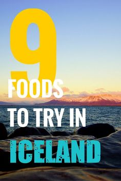 Love trying new foods when you go travel? Iceland has some great food to try for any foodie traveler. Take a look at nine foods you have to try in Iceland. There's so much more to Iceland than just the Blue Lagoon.