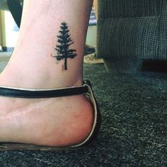 awesome 22 Photos of Mystical Pine Tree Tattoos