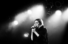 Lykke Li.  Someone got me hooked on her and you should too! :)