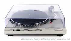 TECHNICS SL-D3 DIRECT DRIVE STEREO TURNTABLE w/ SHURE CARTRIDGE 100% WORKING #Technics