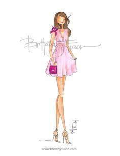 Pretty in pink [ www.brittanyfuson.com ]