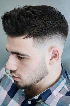 Side Part Fade ❤ #lovehairstyles #menshair #hairstylesformen #menshaircuts Short Shaved Hairstyles, Cool Hairstyles For Men, Cool Haircuts, Haircuts For Men, Men's Hairstyles, Hairstyle Ideas, Haircut Men, Haircut Short, Glasses Hairstyles