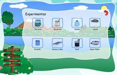Experimentos . Terrario es el ciclo del agua en un bote de cristal http://www.imta.gob.mx/educacion-ambiental/aprende/interface.html