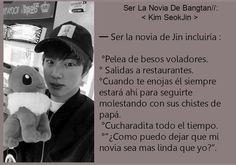 Read Novia from the story BTS Memes. by angelite_ with reads. Jimin, Bts Jin, Bts Taehyung, Bts Bangtan Boy, Seokjin, Namjoon, K Pop, Dramas, Bts Facts