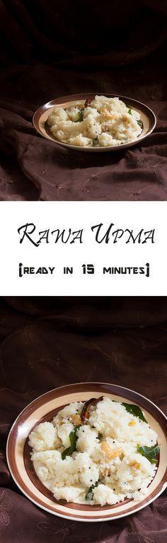 Rawa Upma recipe is