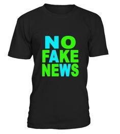 No Fake News Journalism Shirt  Funny Journalism T-shirt, Best Journalism T-shirt