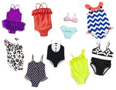 Taylor's Closet, baby girl bathing suits