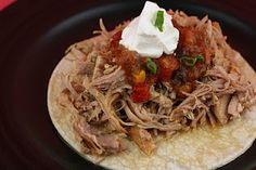 A Year of Slow Cooking: Slow Cooker Carnitas Recipe
