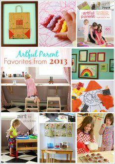 Artful Parent Favorites from 2013
