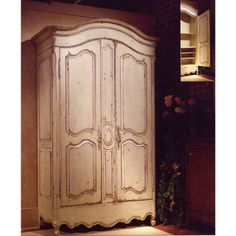Habersham Luberon Armoire with Adjustable Shelves Interior