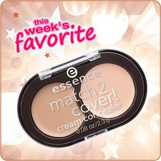 hi beauties, never wear the wrong color #concealer again! you can simply mix the shade you need with our favorite of the week, the match2cover! cream concealer. and there are also lots of other great essence products to #mattify, #cover and #set - take a look here: http://www.essence.eu/en/produkte/gesicht/abdeckung/