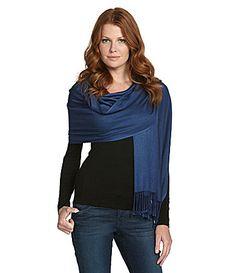 Jones New York Satin-Finish Pashmina   Dillards.com ~ scarf :)
