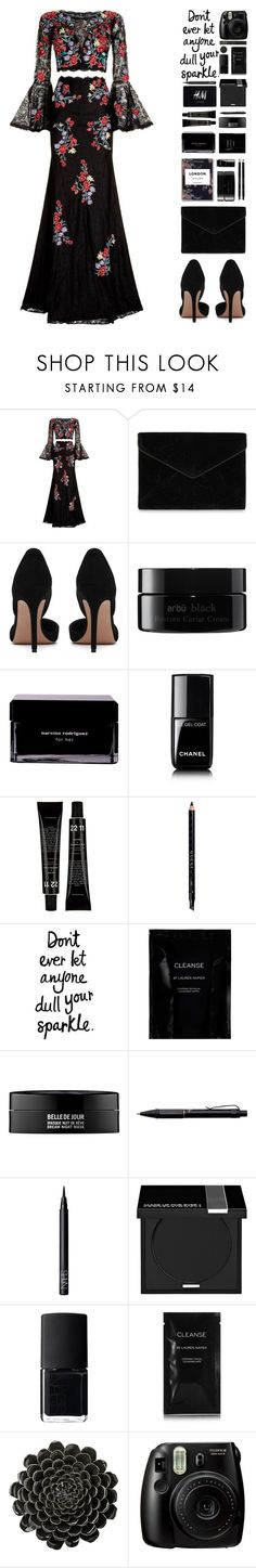 """""""Untitled #524"""" by cherryprincessannie ❤ liked on Polyvore featuring Jovani, Rebecca Minkoff, arbÅ«, Narciso Rodriguez, Chanel, Gucci, Cleanse by Lauren Napier, Kenzoki, Fisher Space Pen and NARS Cosmetics"""