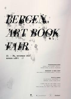 Bergen Art Book Fair on Behance