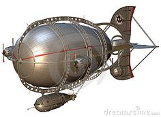 Steampunk Zeppelin - Download From Over 26 Million High Quality Stock Photos, Images, Vectors. Sign up for FREE today. Image: 20132178