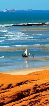 Praia de Canoa Quebrada, Ceará, Brasil !!! (72 pieces)