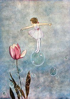 The Little Green Road to Fairy Land, Ida Rentoul Outhwaite 1922
