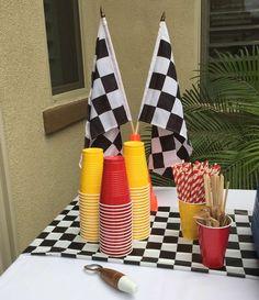 Race Car Birthday Party Ideas | Photo 29 of 37
