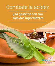 Combate la acidez y la gastritis con tan solo dos ingredientes  La mayoría de las personas han experimentado, al menos una vez en su vida, una incómoda sensación de quemazón en la boca del estómago y la garganta.
