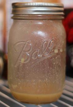 Honey Mustard Dressing - Salad Dressing in Mason Jars!