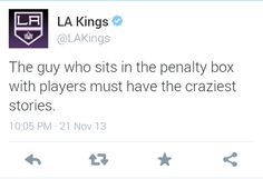#LAKings media at its best.