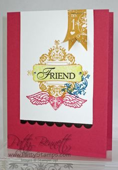 Affection collection friend card