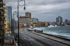 El Malecón, la Habana.