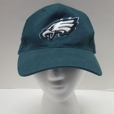 5a67e82f58b NFL Philadelphia Eagles Hat Cap Green Stapback One Size 100% Cotton  NFL   PhiladelphiaEagles
