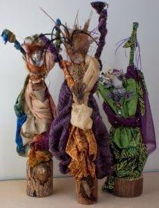 Art Therapy: Sharing Directives: Spirit Dolls