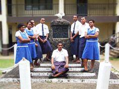 Draiba Fijian School South Pacific, Fiji, Hawaii, American, School, People, Maori, Hawaiian Islands, People Illustration