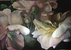 ROSE COMMISSION 6'x9' Diana Watson painting