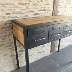 table basse so british meubles et rangements par funkyshop consoles. Black Bedroom Furniture Sets. Home Design Ideas