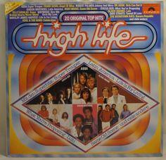 High Life Various Polydor Vinyl LP Heart Never, Roxy Music, Vinyl Lp, Dire Straits, Ebay, Life